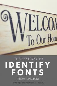 Identify Fonts