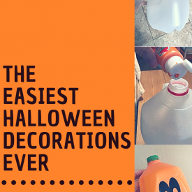 Easy Halloween Pumpkin DIY