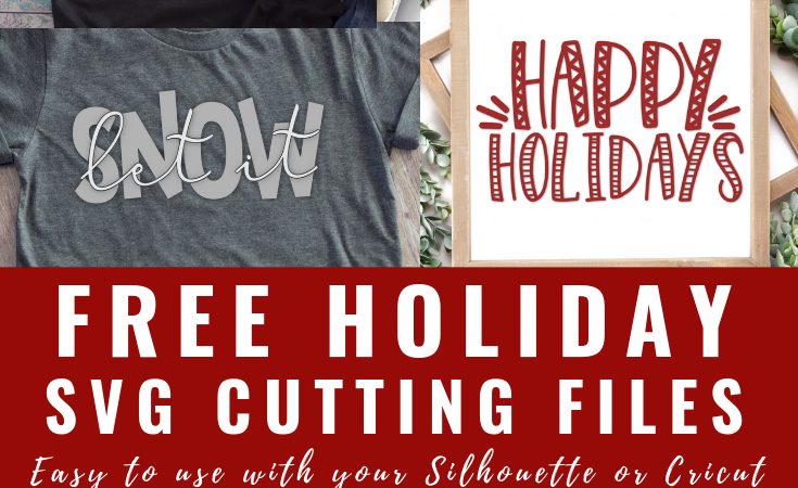 Free Holiday SVG Files