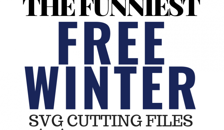 Free Funny Winter SVG Files