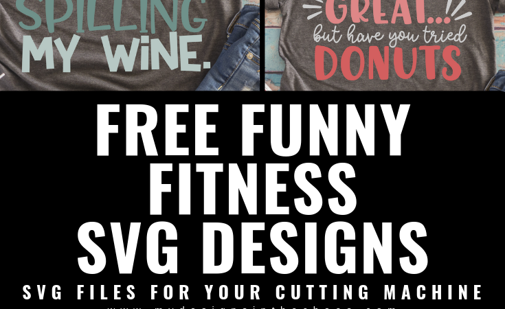 Funny Fitness SVG Files