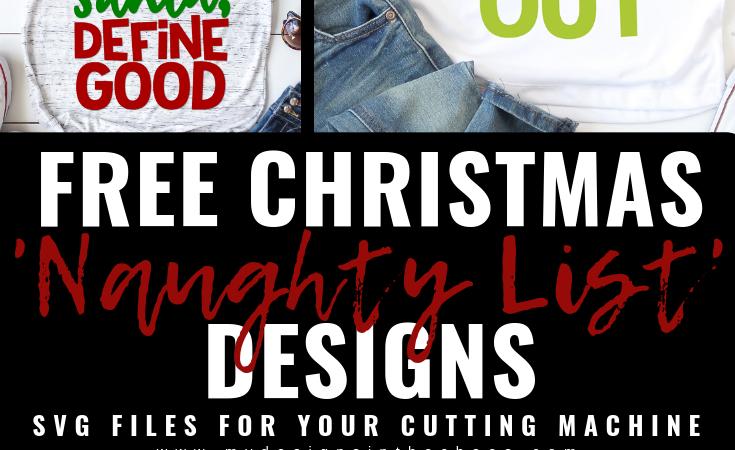 Christmas SVG Files – Naughty List