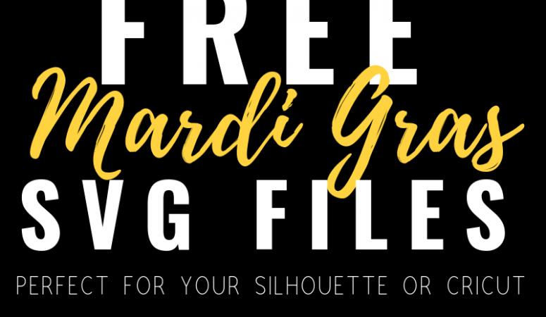 Free Mardi Gras SVG Files