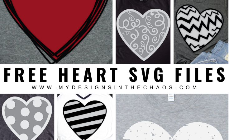 5 Free Heart SVG Files