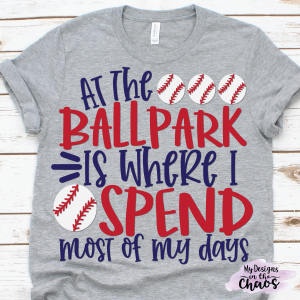 Free Baseball SVG Files for Silhouette or Cricut - My Designs In the
